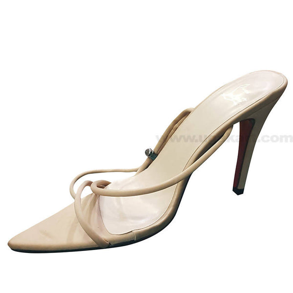 Ivory Designed High Heels Sandal With For Women