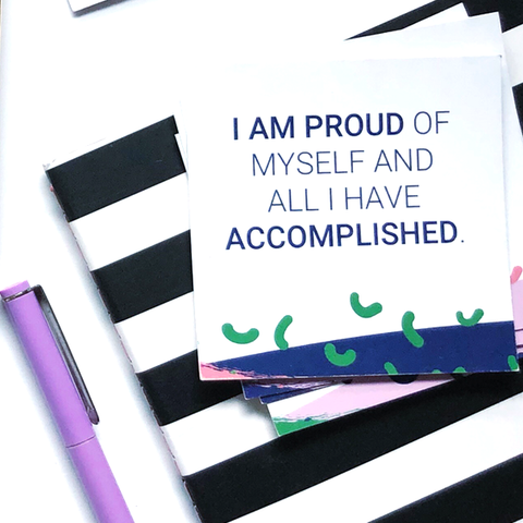 self worth affirmation cards