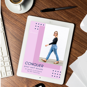 Conquer Your Self-Doubt eBook / workbook