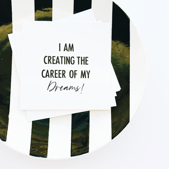 career affirmation cards