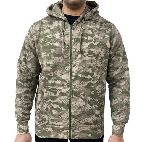 fc65c47fd909f Game Digital Camouflage Zip Hoodie – Game Technical Apparel