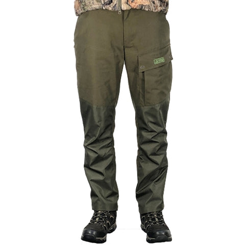Game HB300 Hawk Waterproof Country Trousers - Green