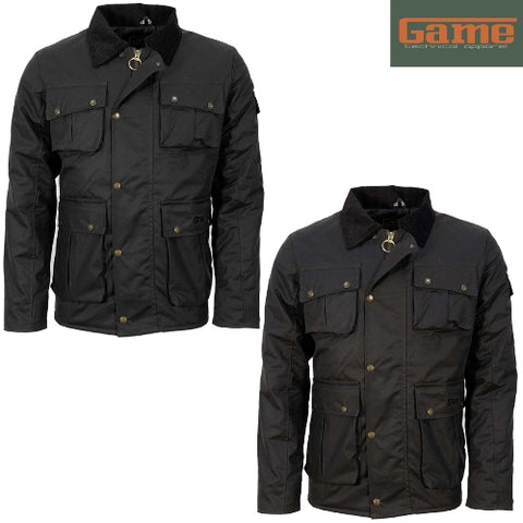 Game Utilitas II Wax Jacket - Padded