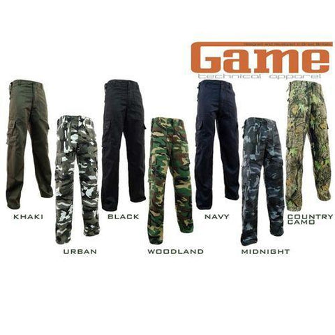 Game Cargo Trousers Gallery
