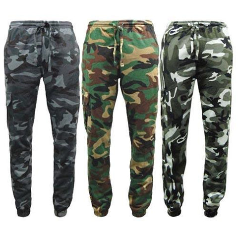 Game Mens Camouflage Joggers Gallery