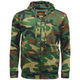 Game Mens Camouflage Zipper Woodland
