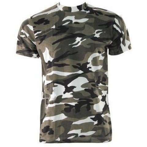 Game Mens Camouflage Tshirt in Urban