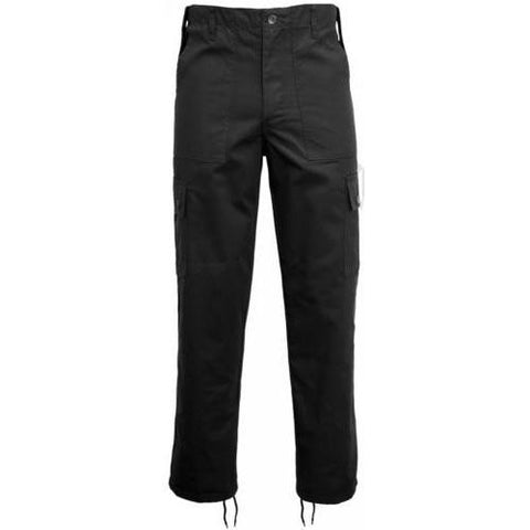 Game Cargo Trousers in Black