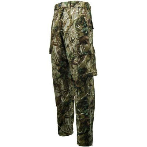 Game Mens Polyester Tecl-Wood Stealth Waterproof Windproof Camouflage Trousers
