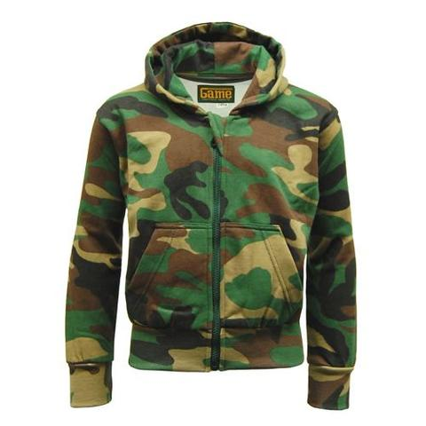 Game Camouflage Zipper - Woodland