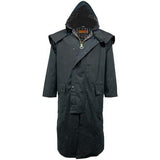 Game Mens Stockman Long Cape Jacket Hood