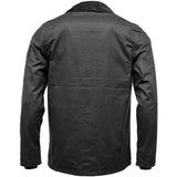 Game Mens Utilitas Wax Jacket Back