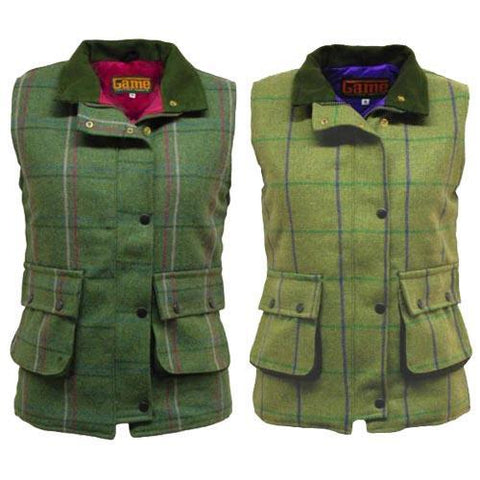 Game Ruby/Abby Tweed gilet