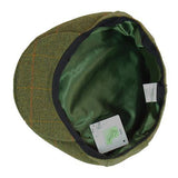 Game Tweed Flat Cap Bute Interior