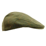 Game Tweed Flat Cap in Bute