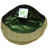 Game Tweed Flat Cap Fife Interior