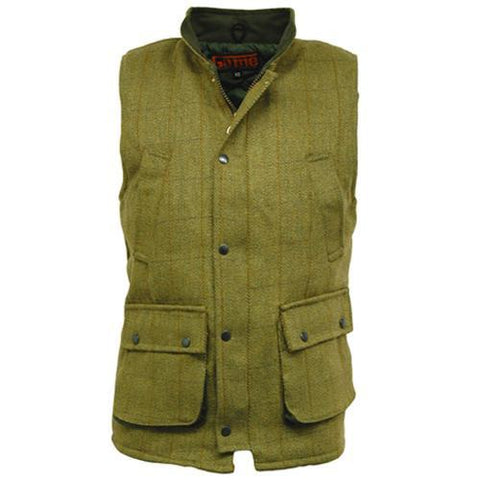 Game Tweed Gilet in Fife