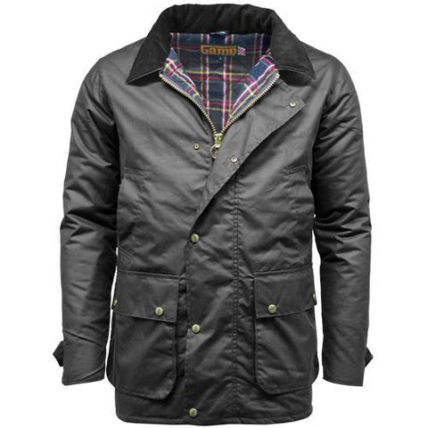 Game Mens Winchester Antique Jacket Black