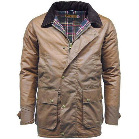 Game Mens Winchester Antique Jacket Tan