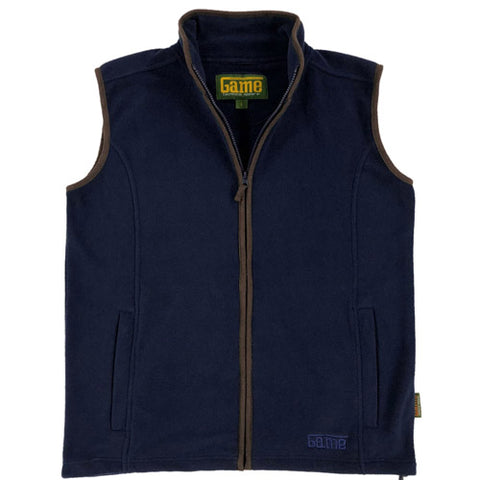 Mens Game Stanton Country Fleece Gilet