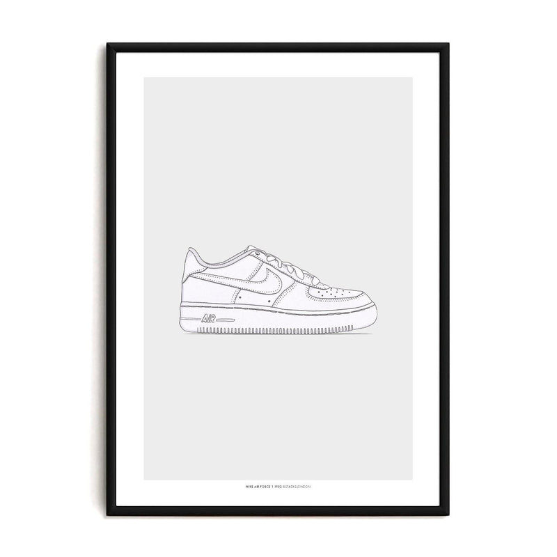 Air Force 1 Sneaker Print - Stacks: The Hip Hop Card Game