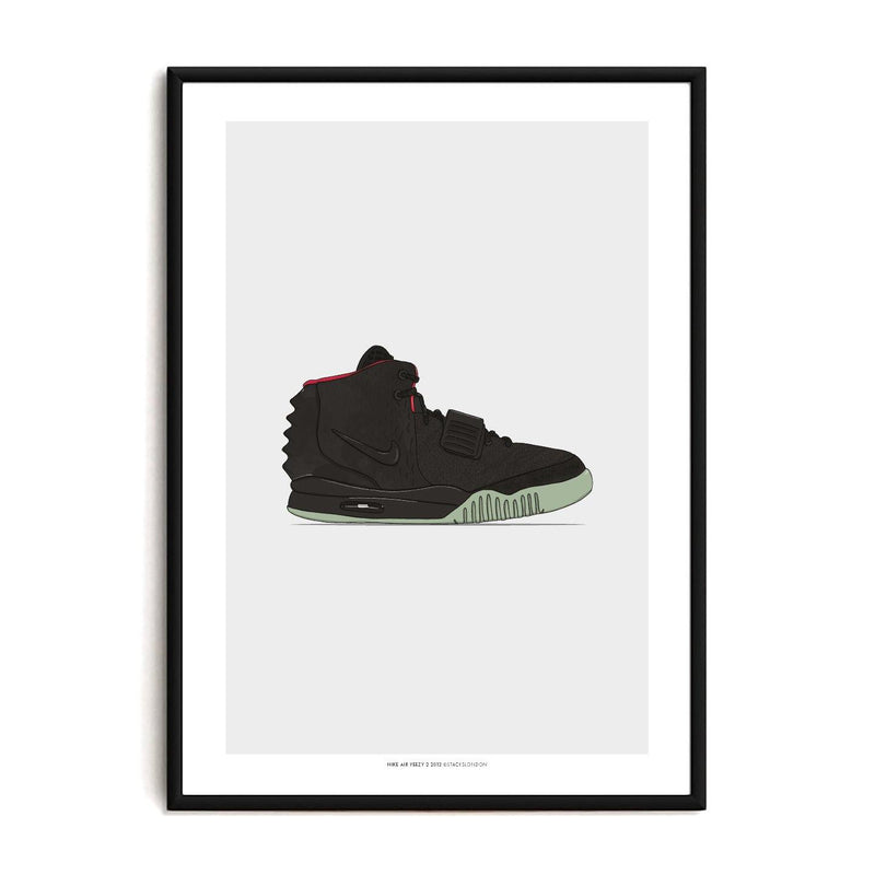 Air Yeezy 2 Sneaker Print - Stacks London