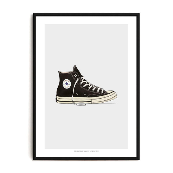 Chuck Taylor Sneaker Print - Stacks: The Hip Hop Card Game
