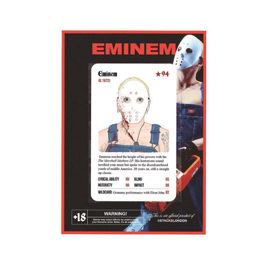 Super Rare Eminem Card - Stacks: The Hip Hop Card Game