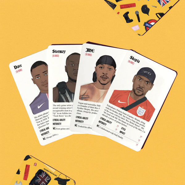Grime Stacks - Stacks: The Hip Hop Card Game