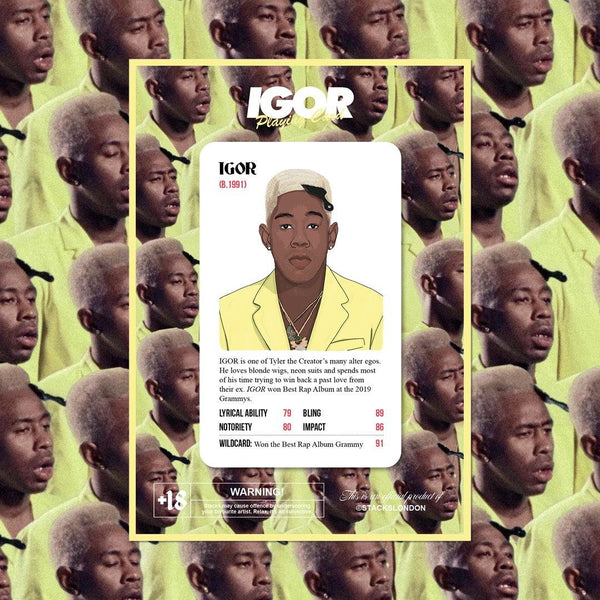 Limited Edition IGOR Card (Lucky Dip) - Stacks: The Hip Hop Card Game