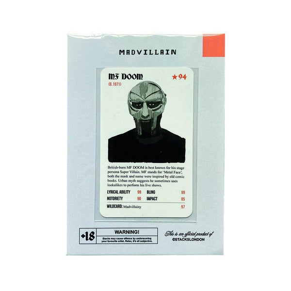 MF DOOM MADVILLIAN Card - Stacks: The Hip Hop Card Game