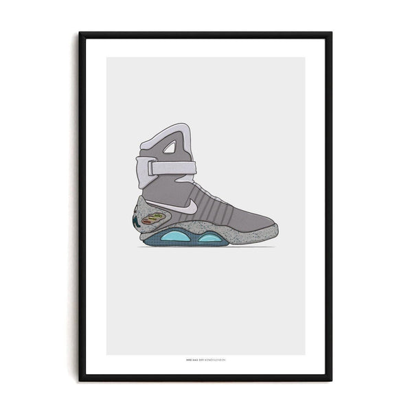 Air Mag Sneaker Print - Stacks: The Hip Hop Card Game