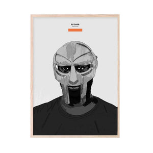 MF DOOM (Madvilliany) Art Print - Stacks: The Hip Hop Card Game