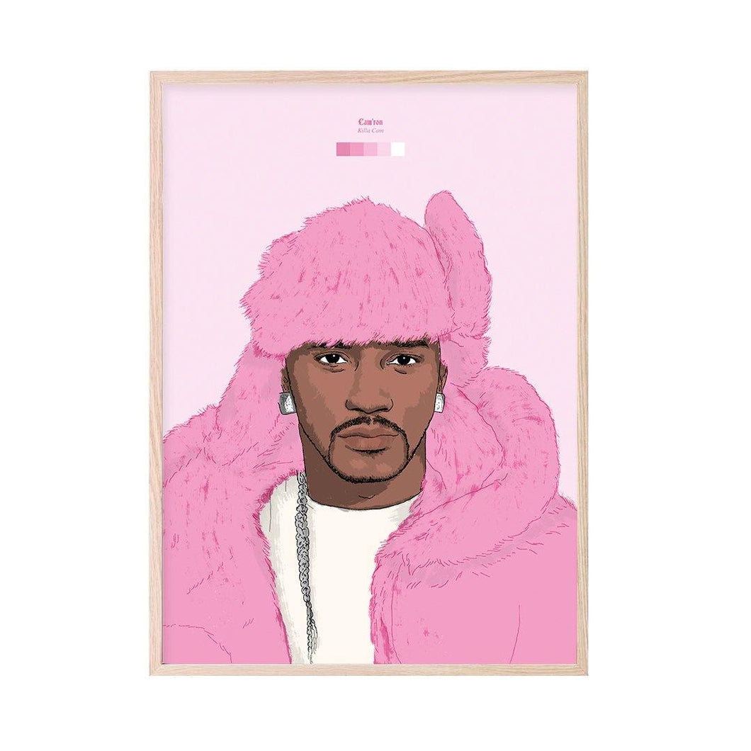 Cam'ron (Killa Cam) Art Print - Stacks: The Hip Hop Card Game