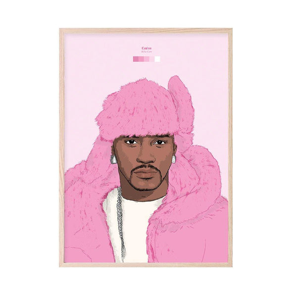 Cam'ron (Killa Cam) Art Print - Stacks London
