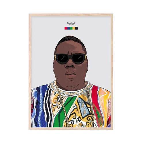 Biggie (Coogi) Print - Stacks: The Hip Hop Card Game