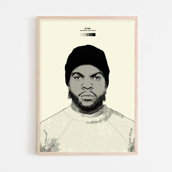 Ice Cube (Amerikkka's Most Wanted) Print - Stacks: The Hip Hop Card Game