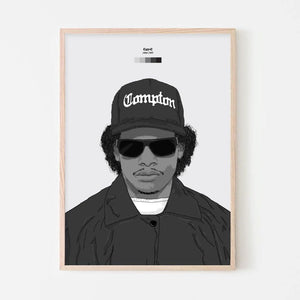 Eazy-E Print - Stacks: The Hip Hop Card Game