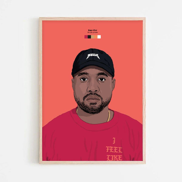 Kanye West (The Life of Pablo) Print - Stacks London