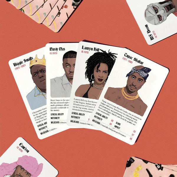 Rapper Stacks Vol.1: The 90s Pack - Stacks: The Hip Hop Card Game