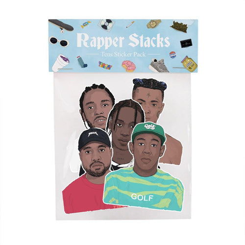 Rapper Stacks: 10s Sticker Pack - Stacks: The Hip Hop Card Game