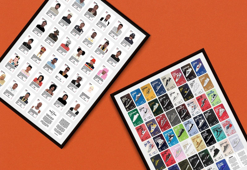 90s Pack Uncut Sheet - Stacks: The Hip Hop Card Game