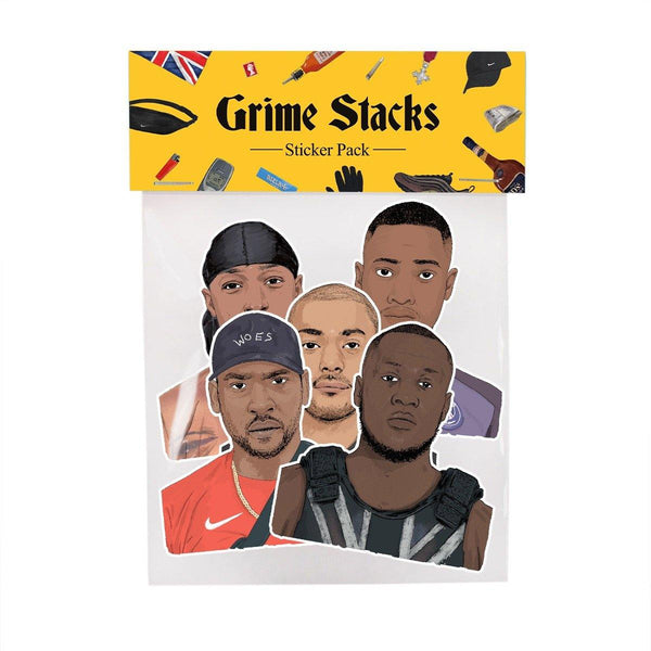 Grime Stacks Sticker Pack - Stacks: The Hip Hop Card Game