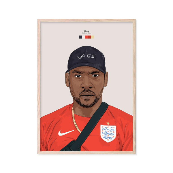 Skepta Print - Stacks: The Hip Hop Card Game