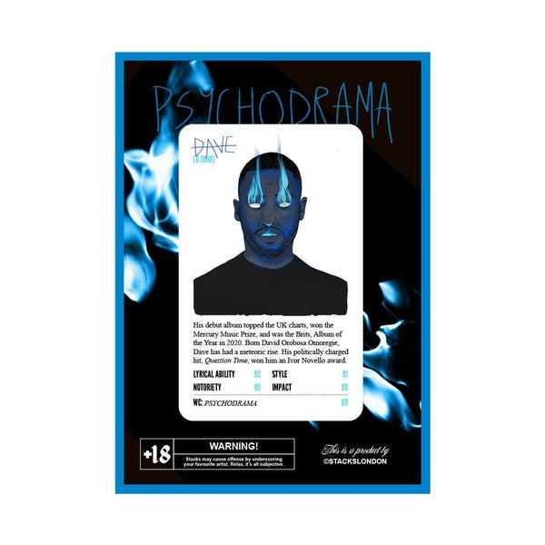 Santan Dave - Psychodrama Card - Stacks: The Hip Hop Card Game