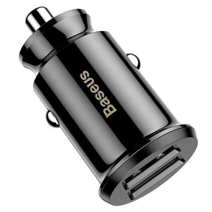 Baseus Mini USB Car Charger For Mobile Phone and Tablet