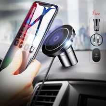 Load image into Gallery viewer, Baseus Magnetic Qi Wireless Car Mobile Charger