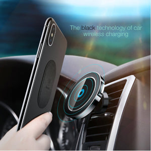 Baseus Magnetic Qi Wireless Car Mobile Charger