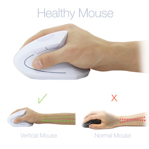 CHYI Wireless 5D Optical Ergonomic Vertical Gaming Mouse