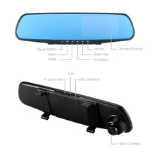 Load image into Gallery viewer, GRYAN 1080P Rear View Dual Lens Auto Dash Camera